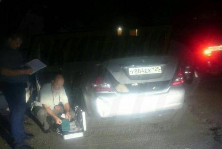 Женщина, тело которой нашли в багажнике, пыталась укрыться от дождя