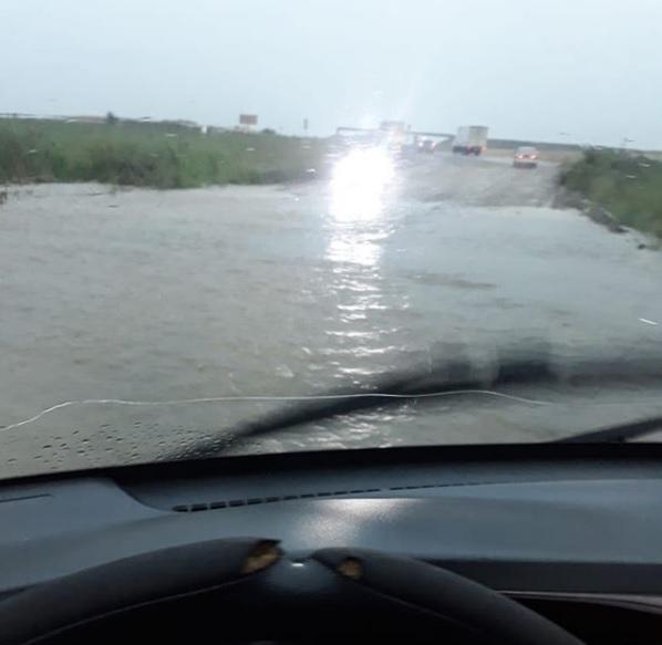 Дорога на развилкеПограничный – Покровка уходит под воду