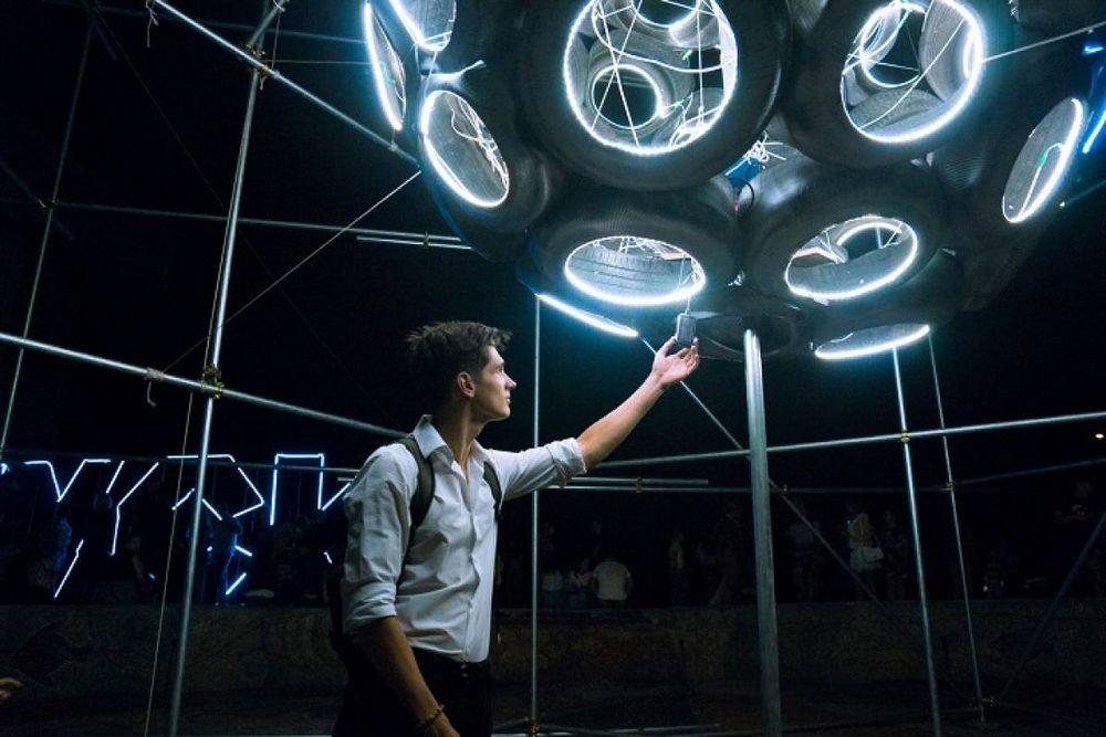 Во Владивостоке прошел фестиваль светового искусства
