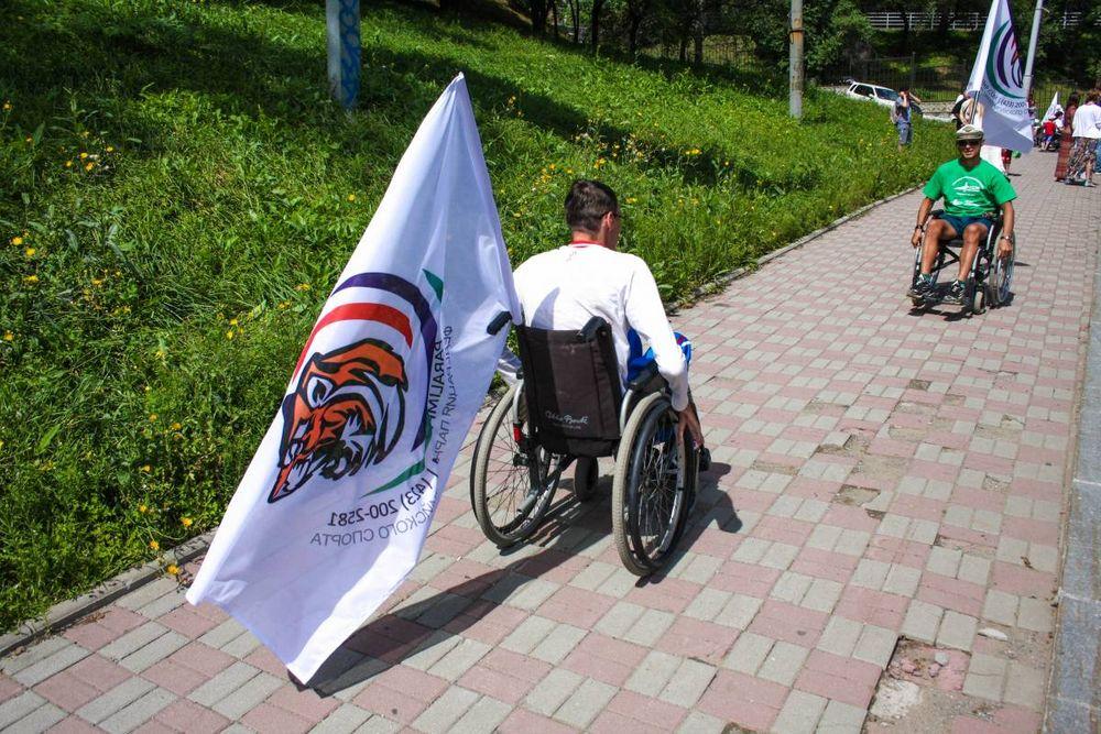 Флешмоб в поддержку паралимпийской нацсборной прошел во Владивостоке