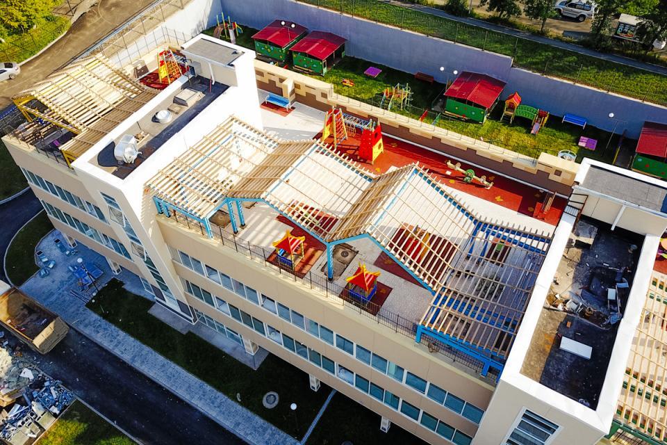 Детский сад с игровой площадкой на крыше откроется во Владивостоке – рано или поздно (фото)