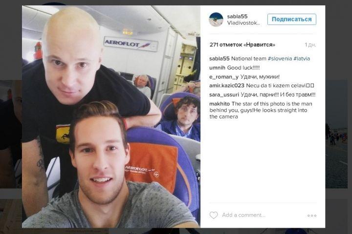 Игроки «Адмирала» Бартулис и Саболич примут участие в отборе к Олимпиаде-2018