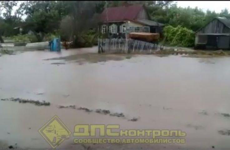 Ханка вышла из берегов и подступает к домам – очевидцы