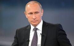Владивосток встретил Путина мощным ливнем