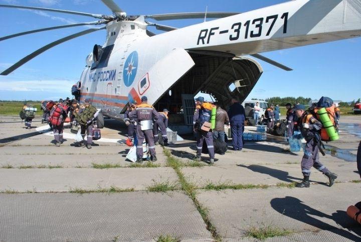 Десятерых жителей Тернейского района пришлось вывозить вертолетом
