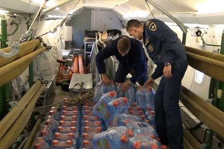 Из Хабаровска и Благовещенска в Приморье летят пять тонн гуманитарной помощи