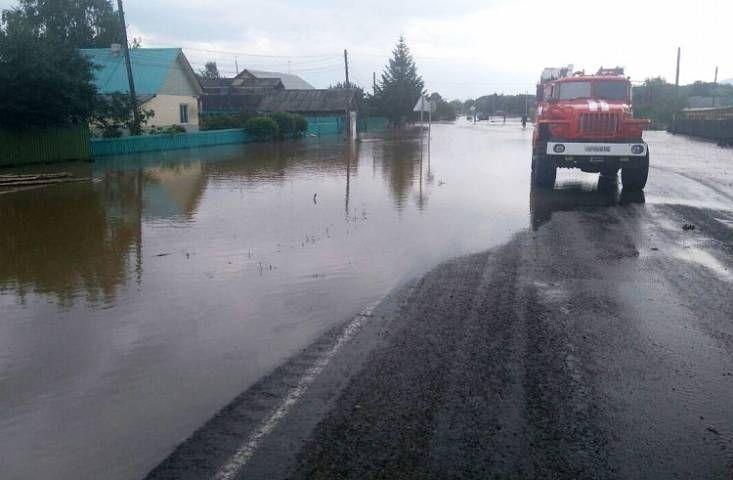 Около 2,5 тысячи домов подтоплено в Приморье из-за тайфуна