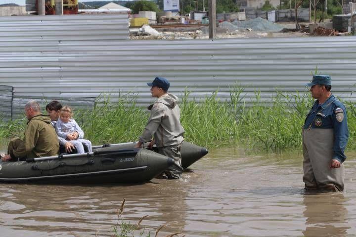 Погранпереход «Полтавка» затопило в Приморье