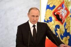 Во Владивостоке Путин подарил Абэ японский меч