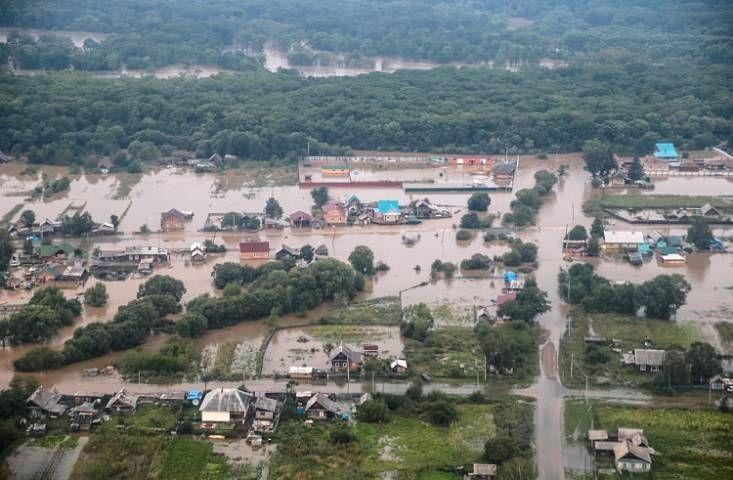 Оперативные последствия тайфуна «Лайонрок» будут устранять трое суток