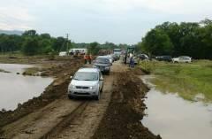 Специалисты восстановили участок дороги в Кавалерово в Приморье