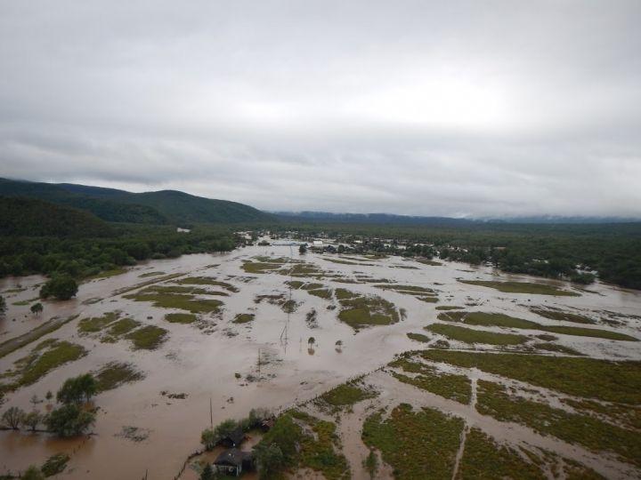 Больше трех тысяч домов по-прежнему подтоплены в Приморье – МЧС