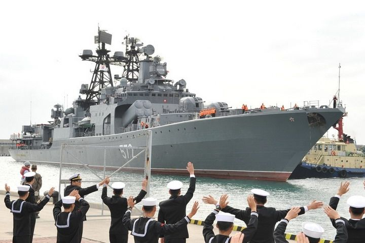 Отряд кораблей ТОФ отправился в Китай на учения