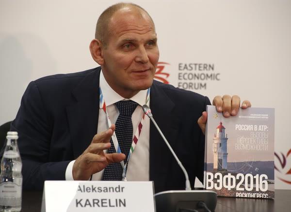 В Приморье в рамках ВЭФ Александр Карелин проведет урок по греко-римской борьбе