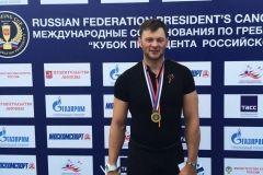 Иван Штыль выиграл золото на Кубке президента по гребле