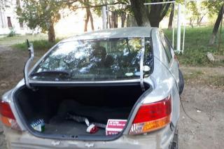 Приморцев удивило то, как «раздели» автомобиль девушки из Уссурийска