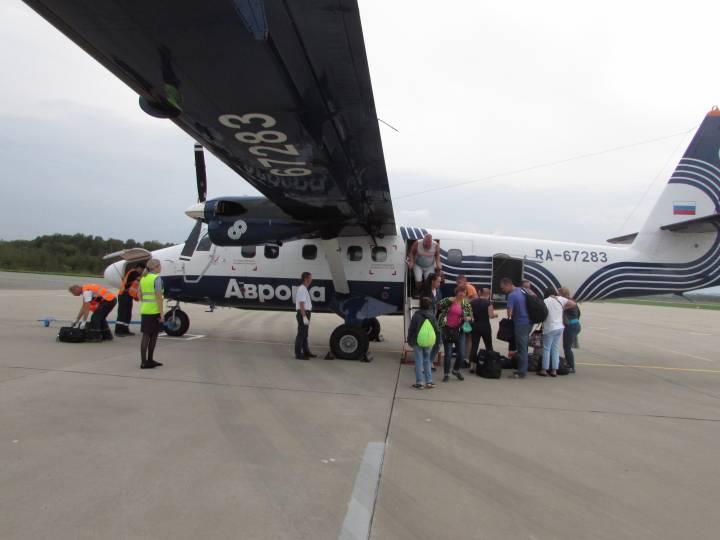 Авиационное сообщение наладилось между Преображением и Владивостоком