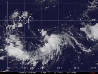 В Приморье следят за траекторией нового мощного тайфуна Talim
