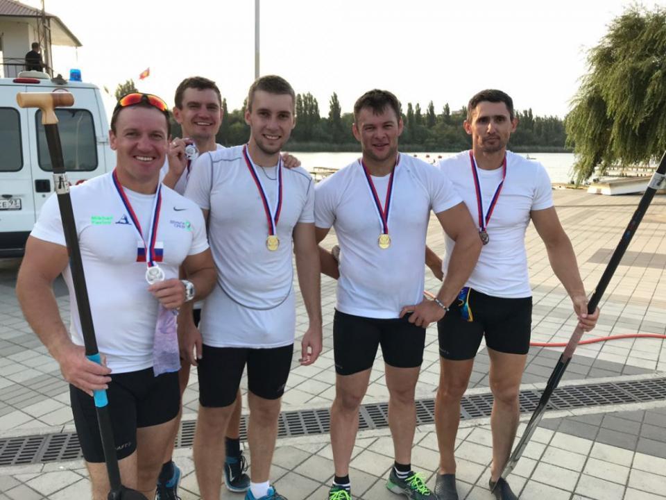 Приморские гребцы успешно выступили на чемпионате России