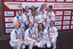 Спортсменки из Приморья стали двукратными чемпионками мира в гребле на «Драконах»