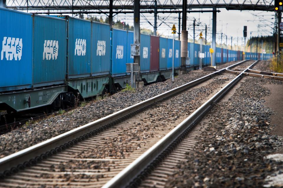 FESCO запустило регулярный контейнерный поезд по маршруту Владивосток – Красноярск – Владивосток