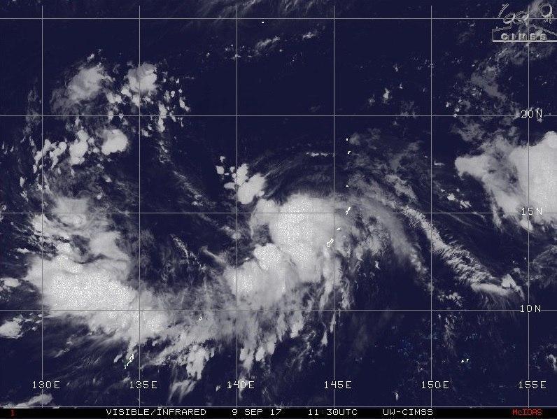 Приморские синоптики продолжают следить за тайфуном «Талим»