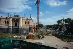 Строительство кафедрального собора в центре Владивостока вновь остановлено