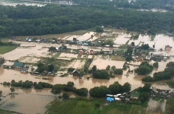 Вырубленные леса и горы Сихотэ-Алиня стали причиной паводка в Приморье