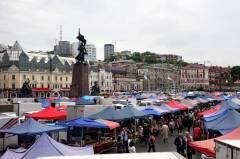 Сегодня во Владивостоке открывается ярмарка на площади