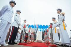 Во Владивостоке на южнокорейском корабле прошел торжественный прием