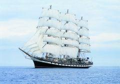 Парусник «Паллада» прибыл к берегам Магадана