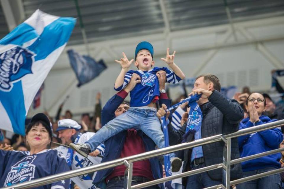 ХК «Адмирал» порвал ЦСКА на домашнем льду со счетом 3:1