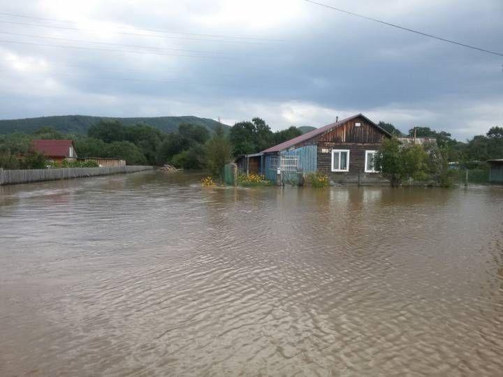 Более 730 домов Приморья разрушил тайфун «Лайонрок»