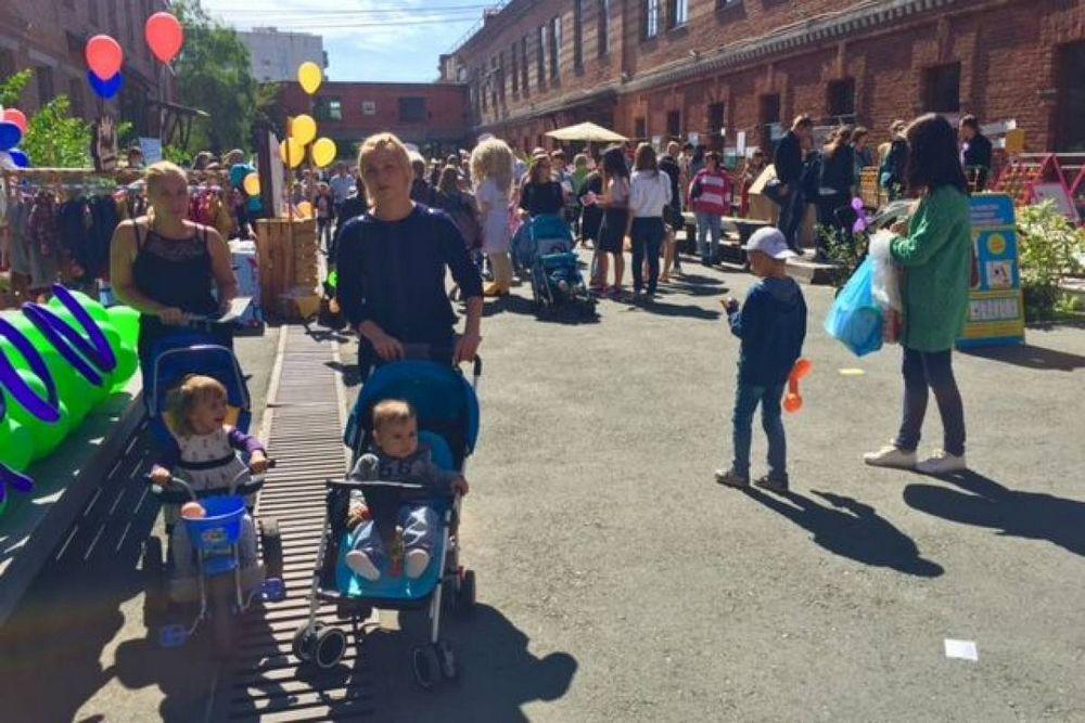 Во Владивостоке проходит мама-пати