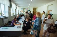 Четверть избирателей проголосовали в Приморье на 15 часов