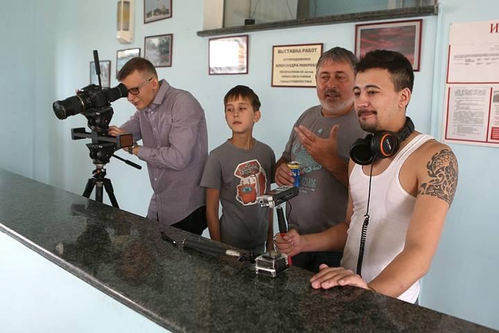 Во Владивостоке идут съемки фильма «Смотрите, как красиво!»
