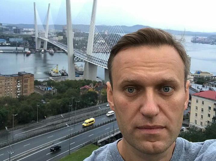 Митинг Алексея Навального прошел во Владивостоке