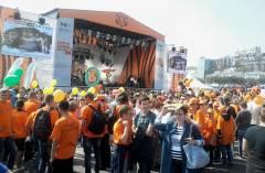 В тигрином шествии во Владивостоке приняли участие около 20 тысяч человек
