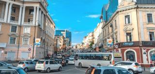 Самые длинные пробки во Владивостоке за прошедшую неделю