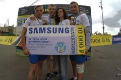 «Ростелеком» стал призером в экидене международного владивостокского марафона