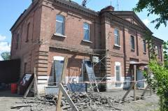 В Уссурийске снят режим ЧС из-за обрушения кровли жилого дома