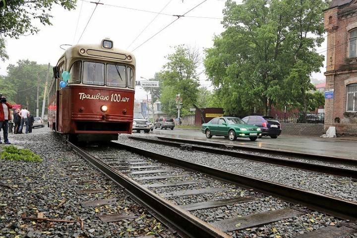 Трамваи восстановили перевозку пассажиров во Владивостоке
