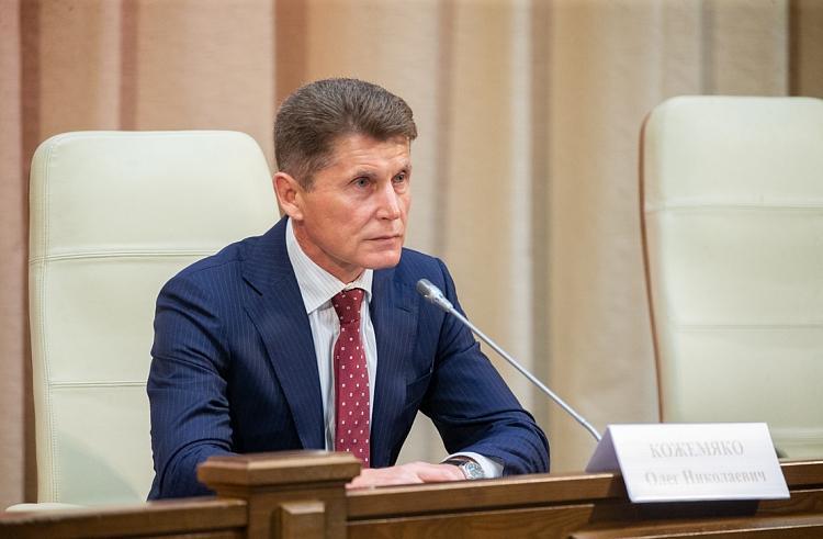 Олег Кожемяко заявил о готовности идти навыборы губернатора Приморья как самовыдвиженец