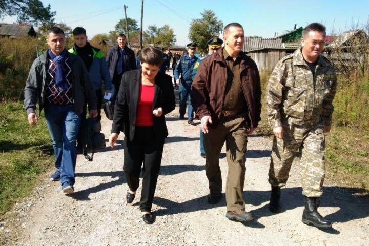 Трутнев: «Сообщение с селом Суворово будет налажено к 4 октября»