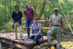 Индийские экологи посетили «Логово леопарда» в Приморье