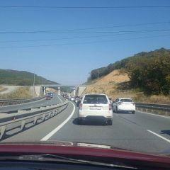 Авария на трассе Седанка - Патрокл стала причиной дорожных заторов