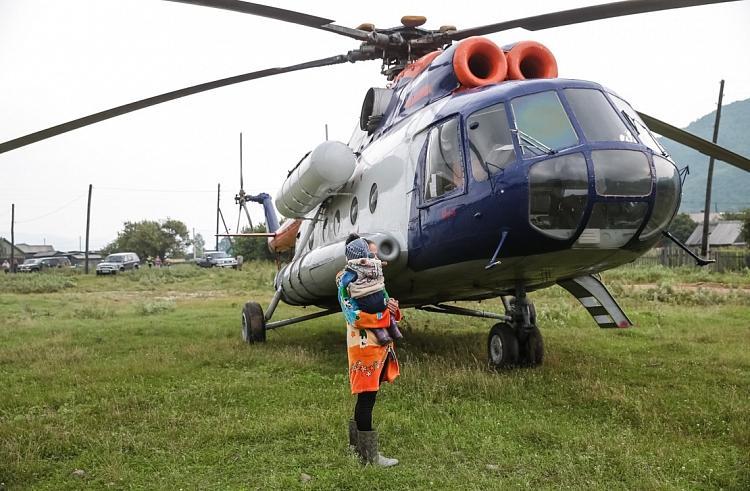 В сентябре санавиация Приморья совершила 13 вылетов