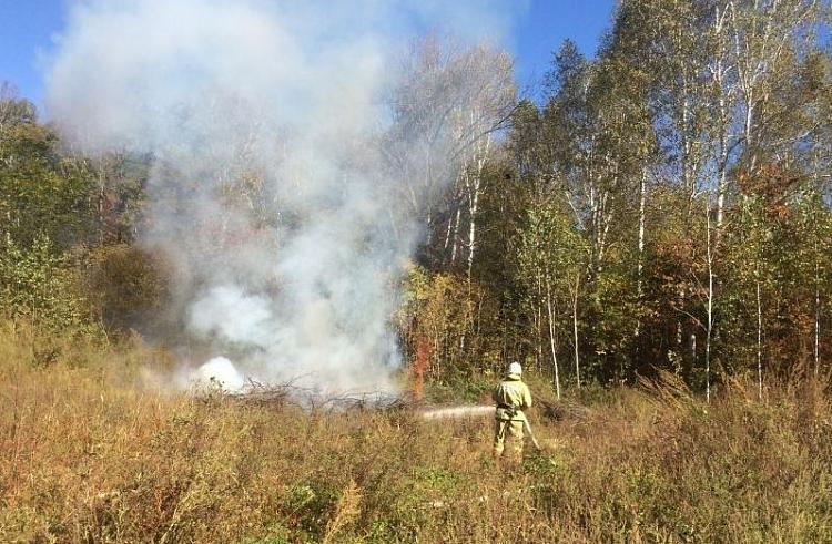 Спасатели Приморья готовятся к пожароопасному сезону