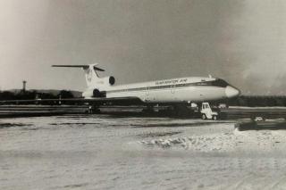 10 фактов о Ту-154 в Приморье