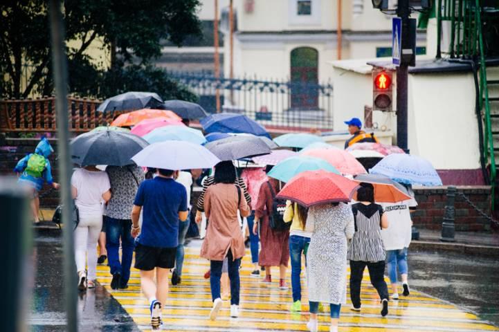 Сильный дождь ожидается во Владивостоке в субботу – синоптики